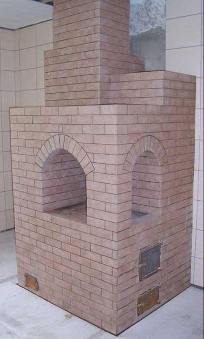 Печь для теплицы из кирпича