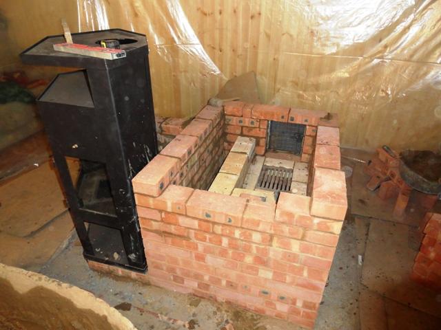 Дача строим печь своими руками 96