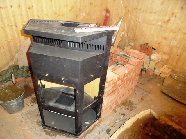 Чертежи печей из кирпича для дома своими