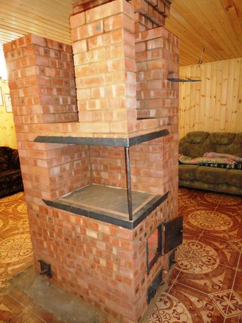 Печка для дачи своими руками с варочной плитой