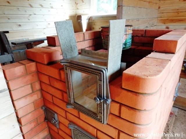 печка 3 на 4 кирпича фото